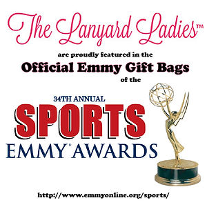 The Lanyard Ladies at the Emmy's