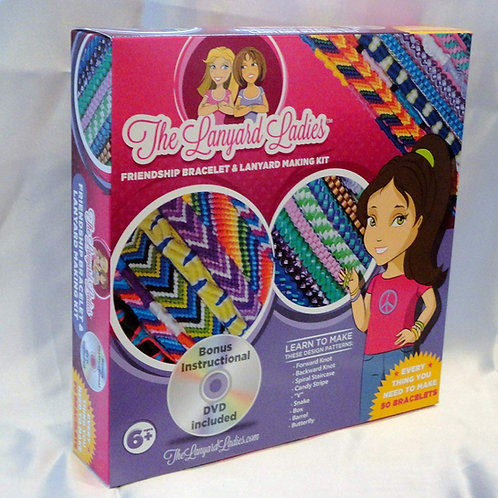 Friendship Bracelet & Lanyard Making Craft Kit