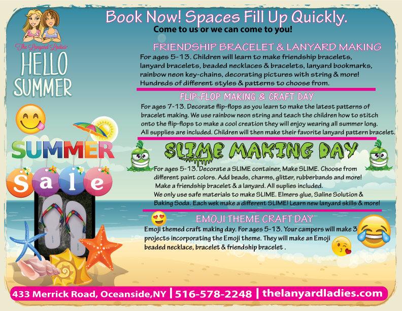 Summer Camp Lanyard Making Special