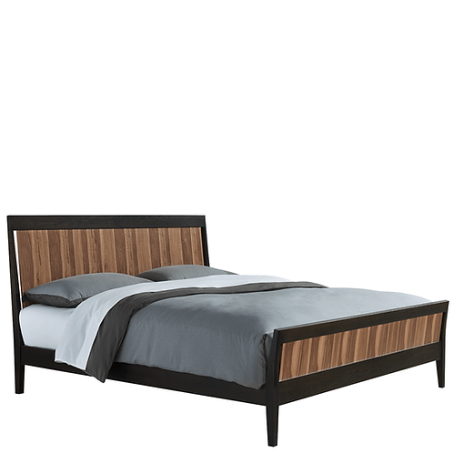 Hayden Wood Panel Bed