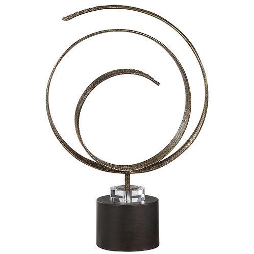 Elio Copper Sculpture