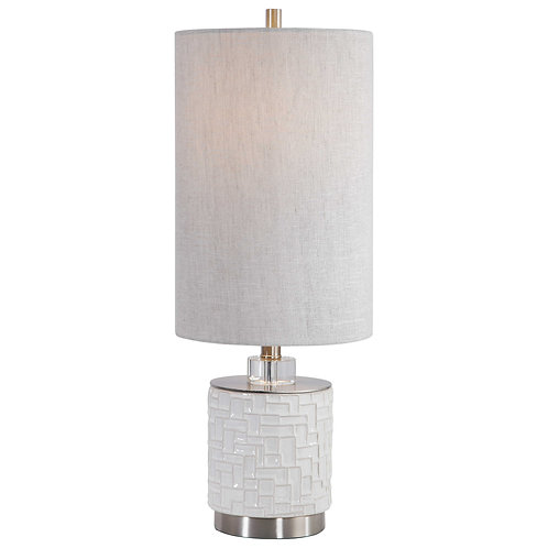 Elyn Glossy Accent Lamp
