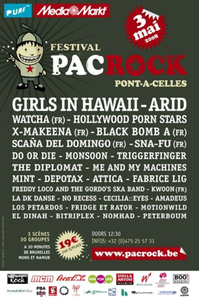 Pacrock festival 2008