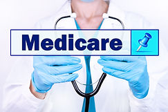 MEDICARE text is written on the backgrou
