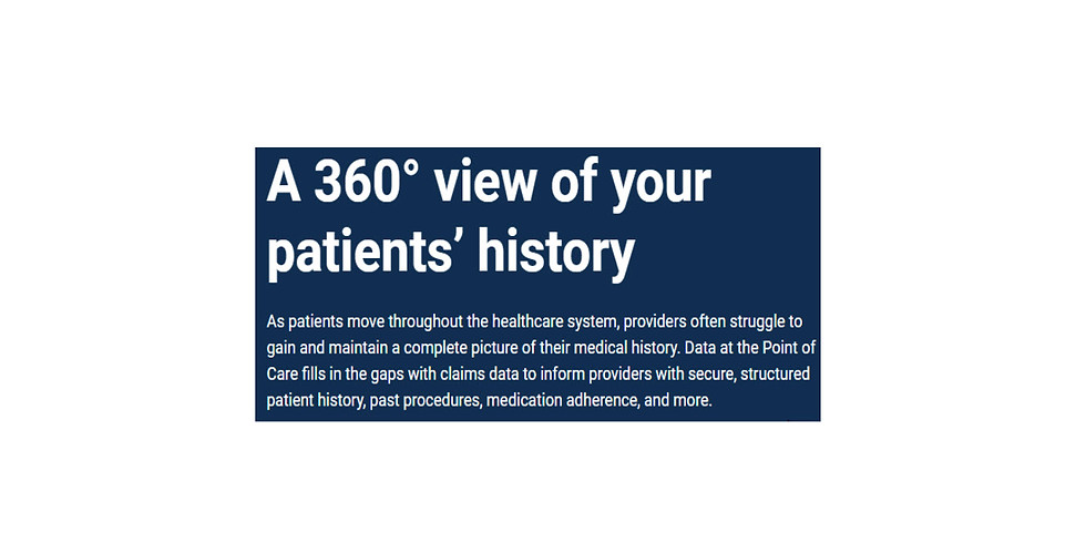 4-Year Health History in the EHR