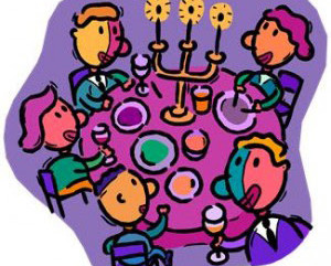 Building Community with Friday Evening Shabbat Dinners