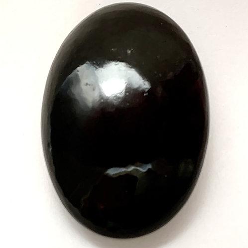 Black Tourmaline Palm Stone