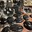 Thumbnail: Black Tourmaline Pendant with Moonstone