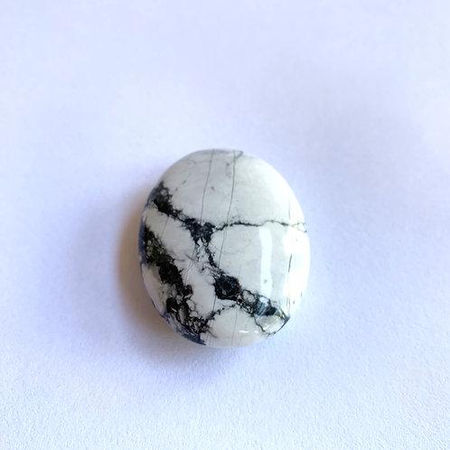 Howlite Touch Stone