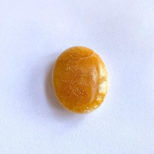 Orange Calcite Touch Stone