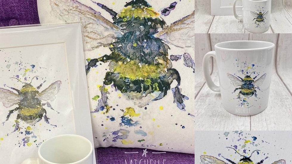 Bumbling Bumblebee Mug.
