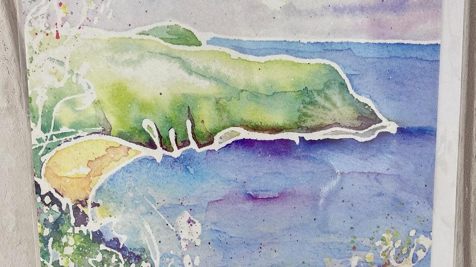 Lantic Bay greeting card