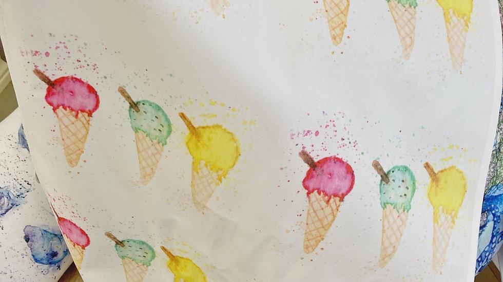 Cornish ice-cream tea towels #4