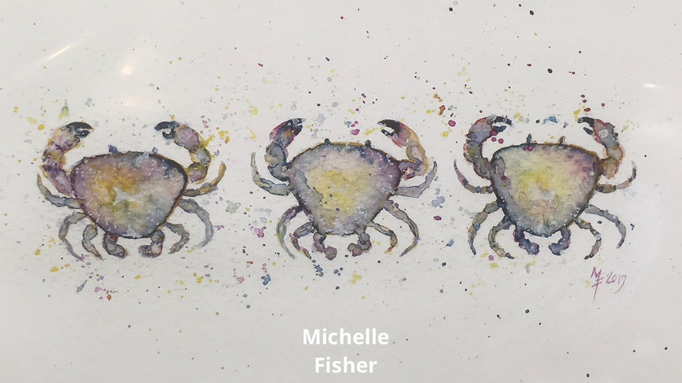 Crabs (mounted prints )
