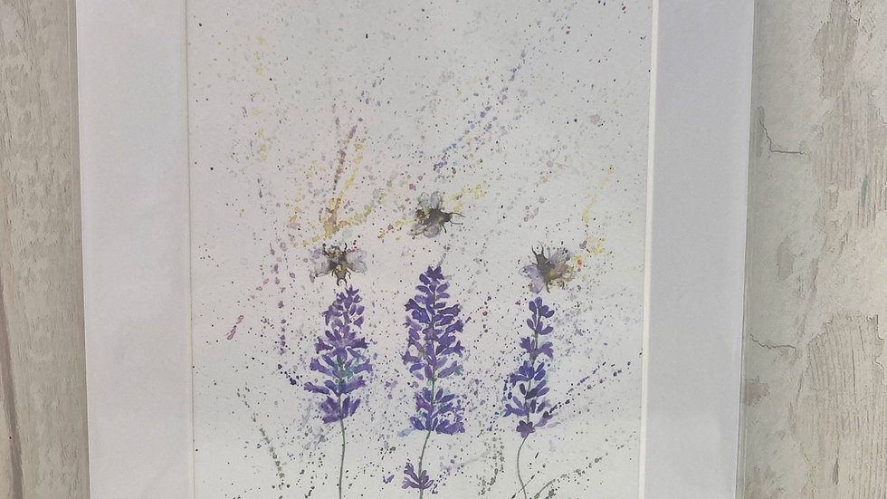 Lavender & Bees