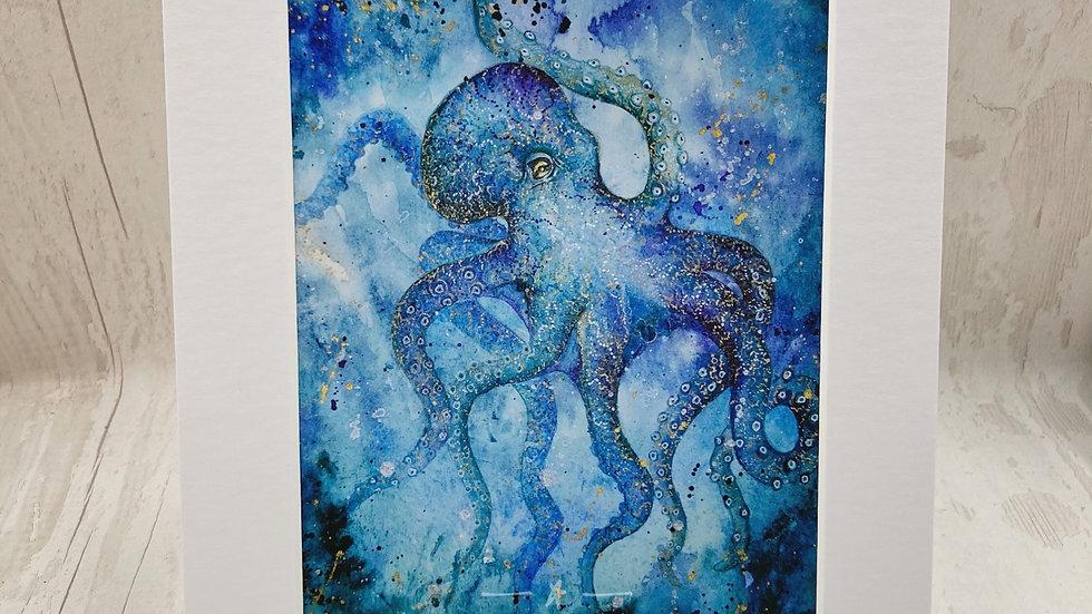 Galactic Octopus print 🐙