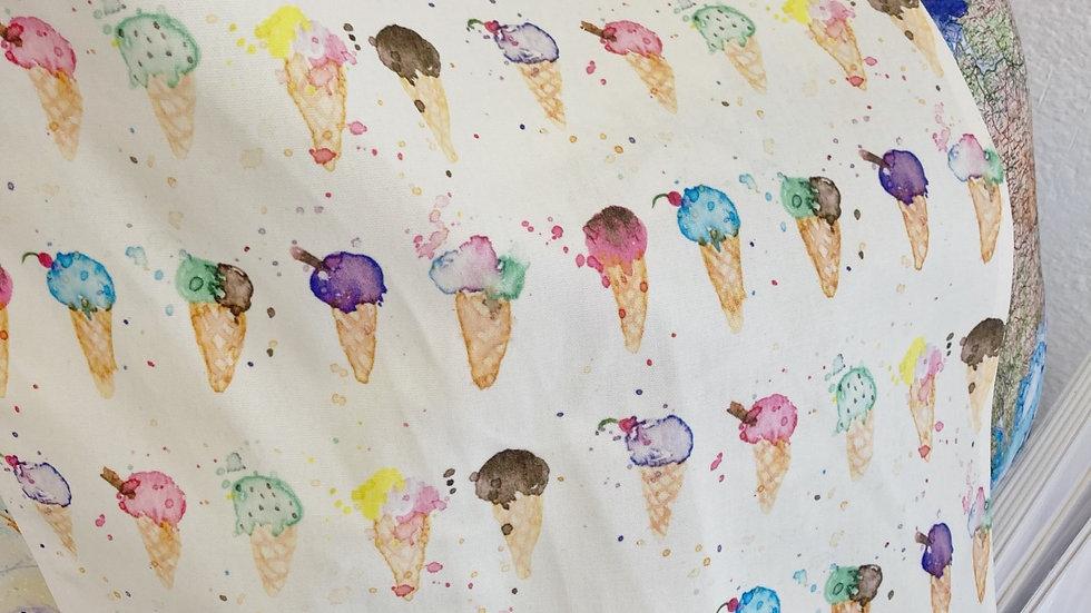 Cornish Ice-cream Tea towel #1