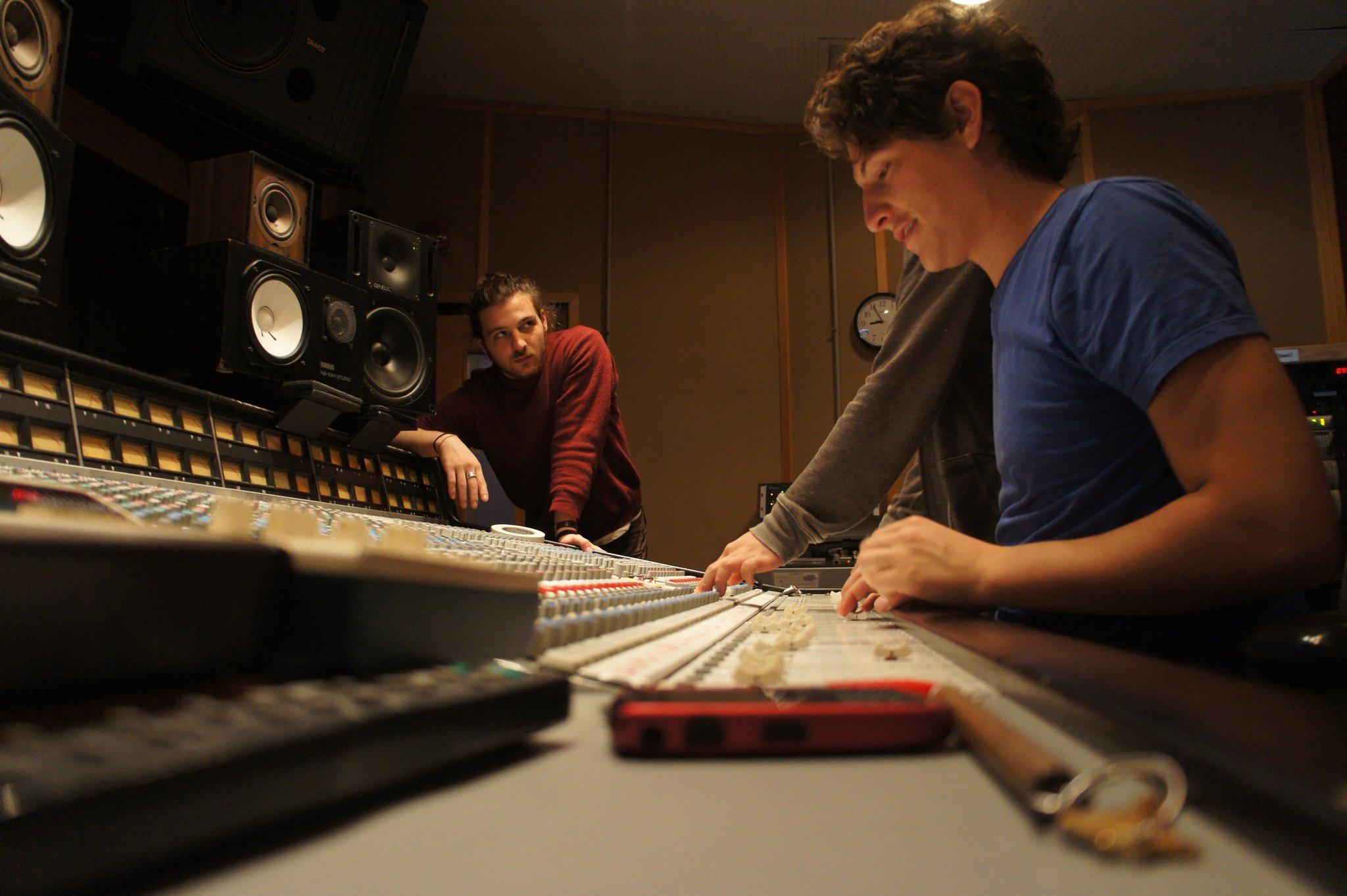 mixing..