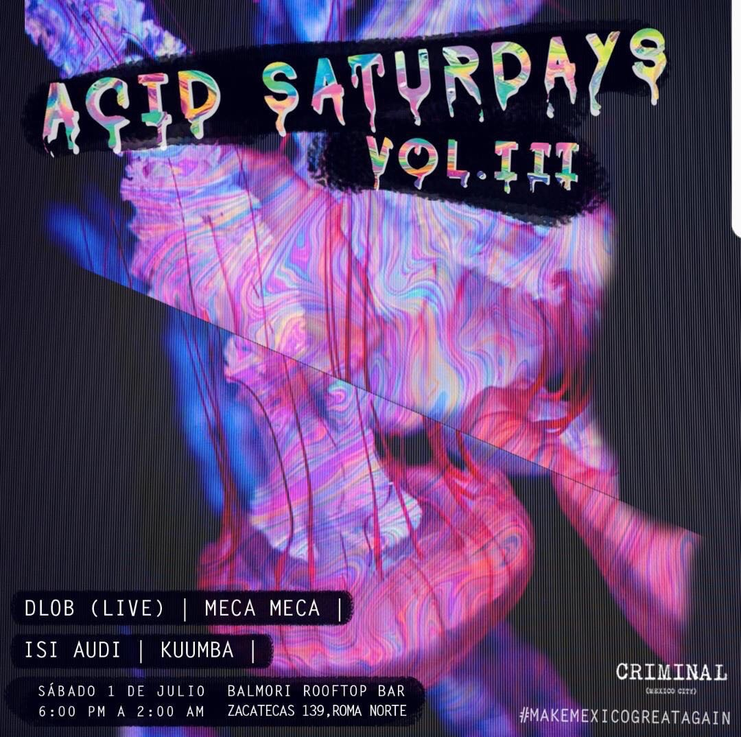 DLOB Live at Acid Saturdays