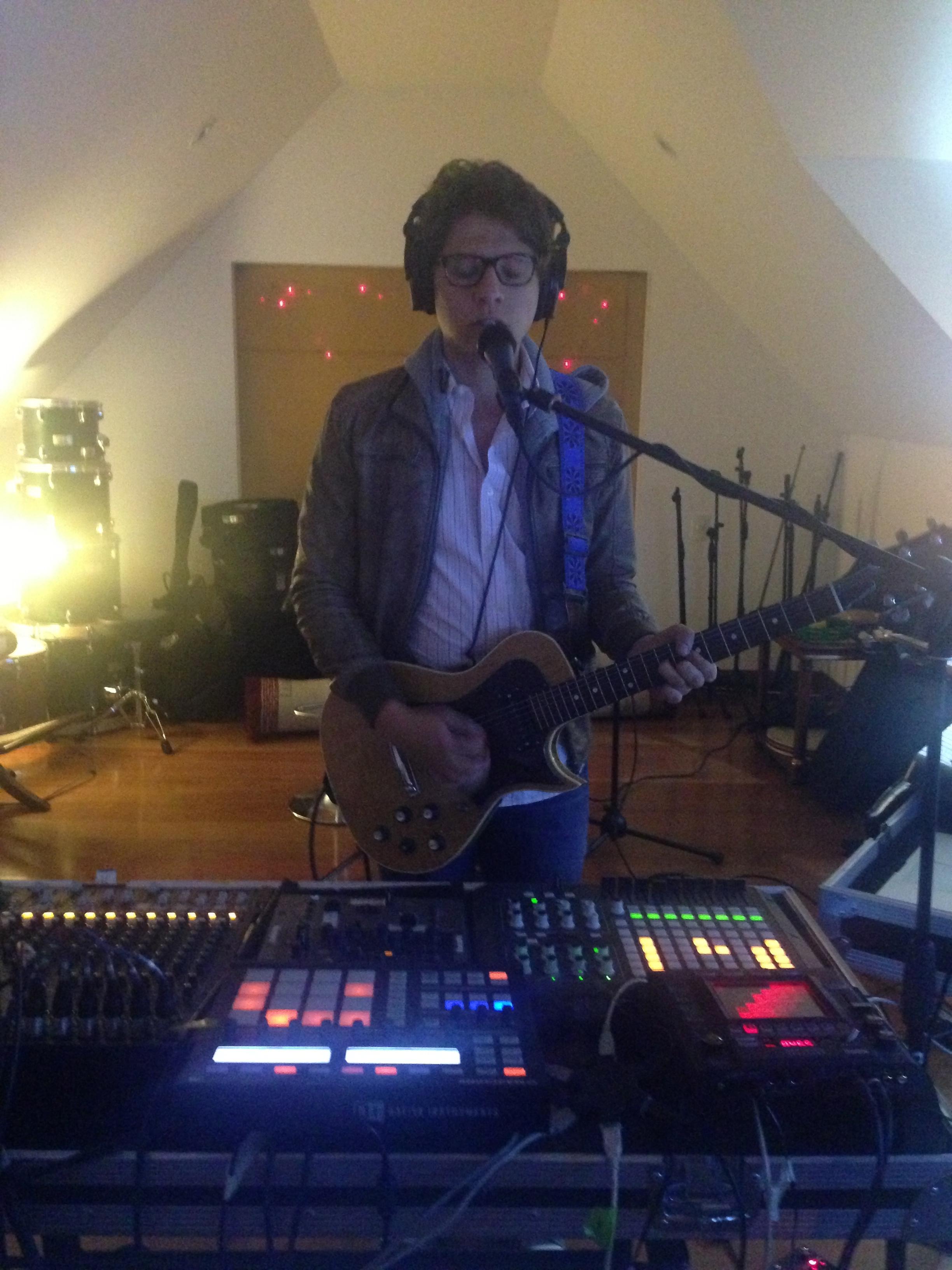 Rehearsing vocals