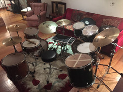 My drum sets :D