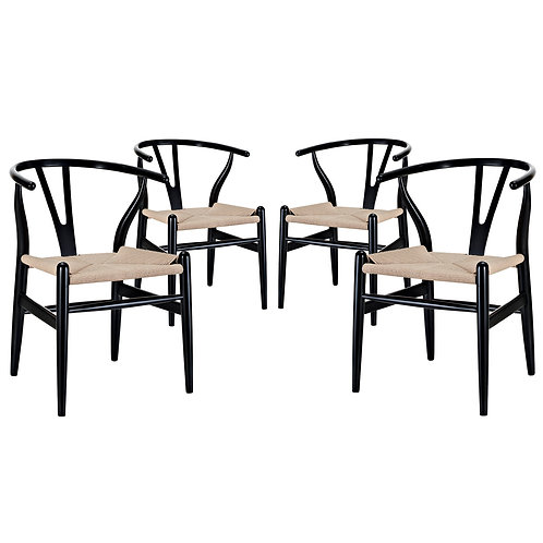 Amish Dining Armchair Set of 4