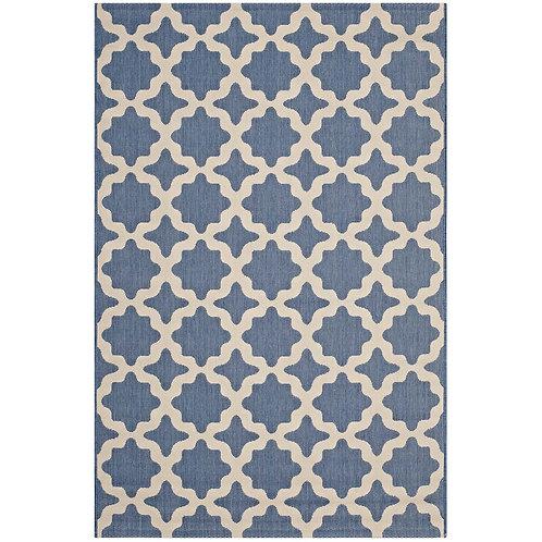Cerelia Moroccan Trellis 8x10 Indoor and Outdoor Area Rug
