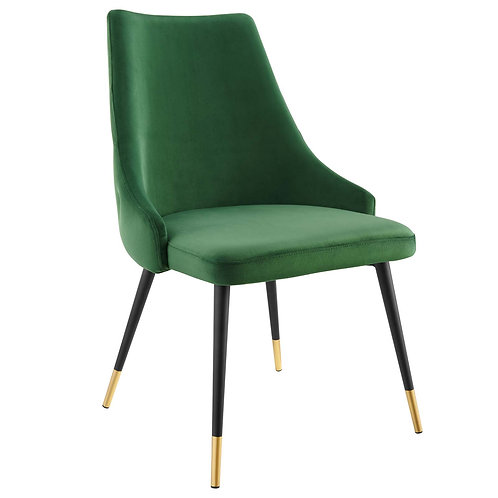 Adorn Tufted Performance Velvet Dining Side Chair