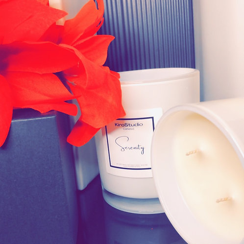 SERENITY- COCONUT WAX CANDLE