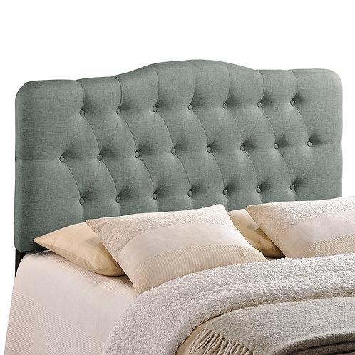 Annabel King Upholstered Fabric Headboard