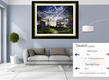 Introducing Swatch our new wall/painting color matching app
