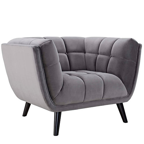 Bestow Performance Velvet Armchair