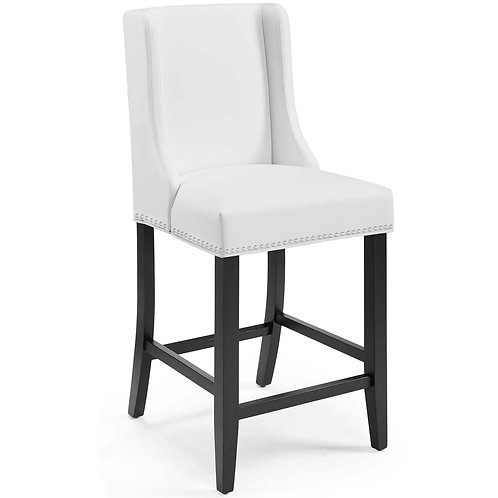Baron Faux Leather Counter Stool