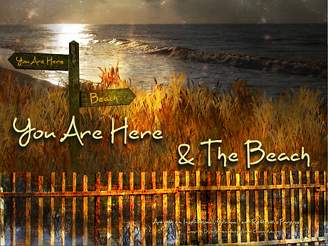 You Are Here & The Beach