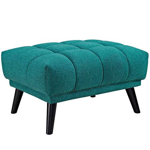 Bestow Upholstered Fabric Ottoman