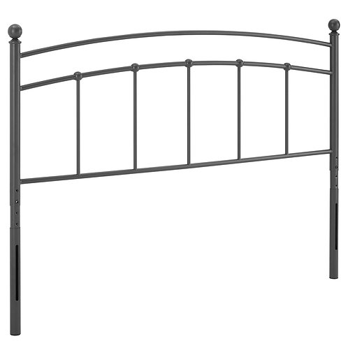 Abigail King Metal Headboard
