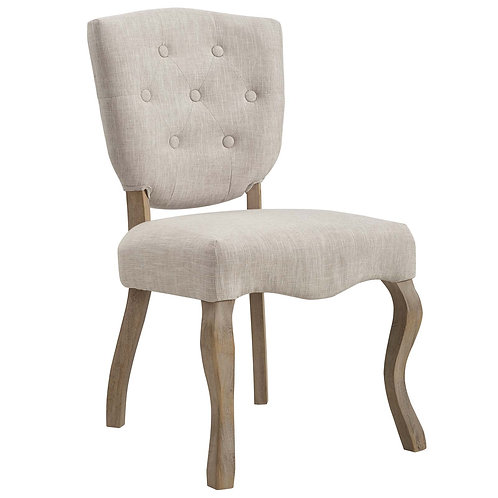 Array Vintage French Upholstered Dining Side Chair