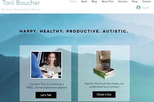 Toni Boucher - Wix Member System