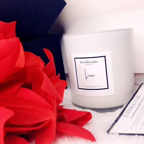 LUXE- COCONUT WAX CANDLE