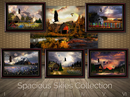 Spacious Skies Collection - Adds New Image