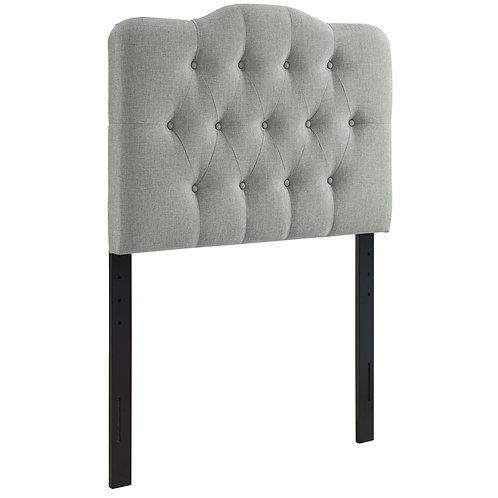 Annabel Twin Upholstered Fabric Headboard