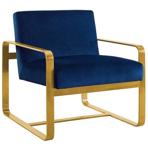 Astute Performance Velvet Armchair