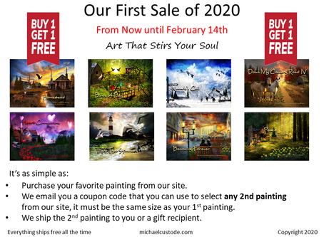 BOGO - Our First Sale of 2020
