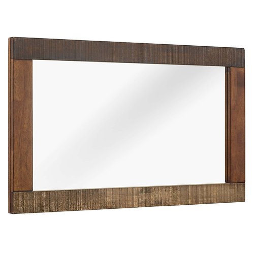 Arwen Rustic Wood Frame Mirror