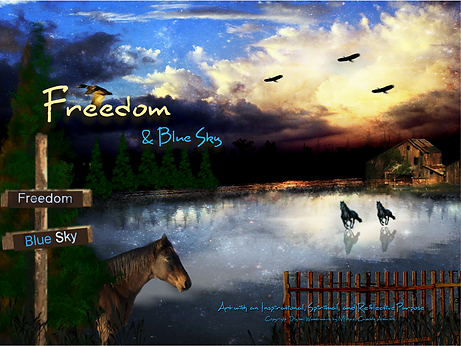 Freedom & Blue Sky