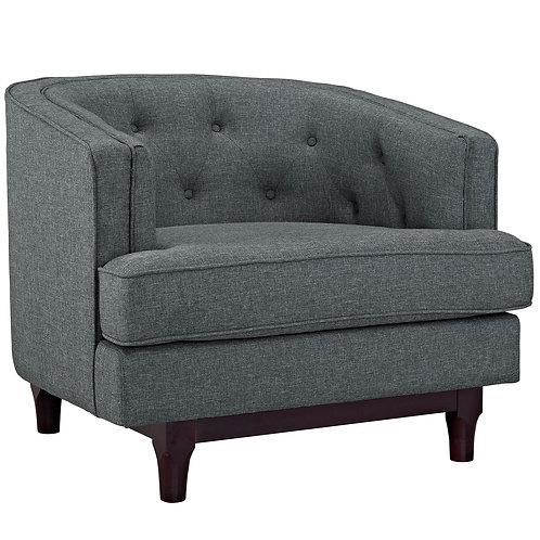 Coast Upholstered Fabric Armchair