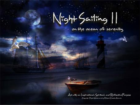 New Painting Alert - Night Sailing II