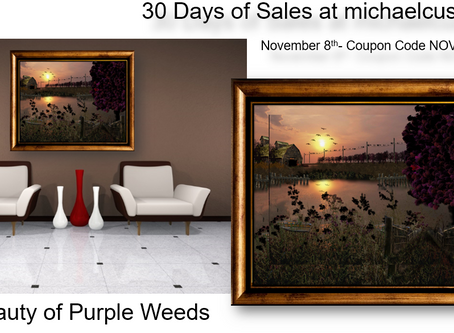 The Beauty of Purple Weeds