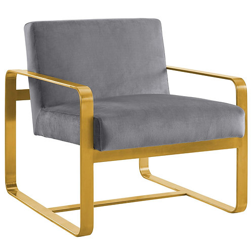 Astute Performance Velvet Armchair