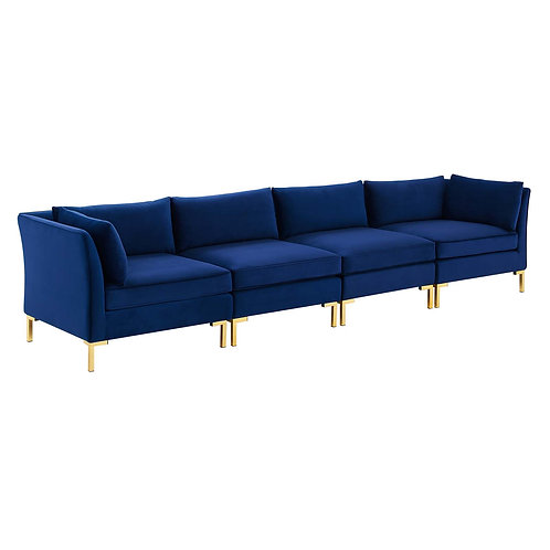 Ardent 4-Seater Performance Velvet Sofa